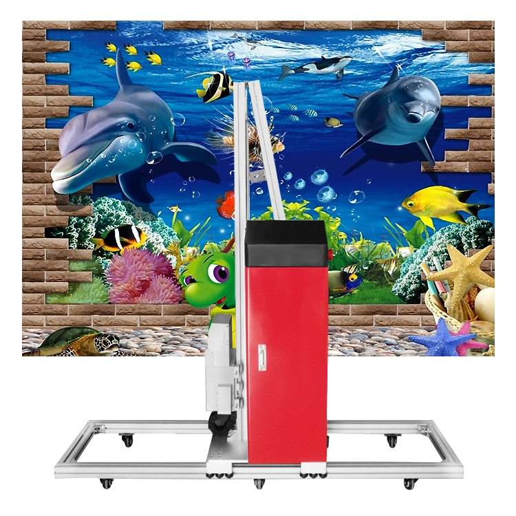 Direct To Wall Painting Machine 3D Vertical Wall Printer  6 buyers