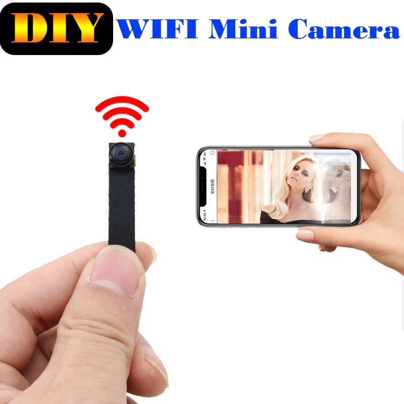 JOZUZE 720P واي فاي لاسلكي صغير كاميرا شبكة مراقبة مراقبة واي فاي كاميرا الصوت مسجل فيديو كاميرا IP P2P مايكرو كام
