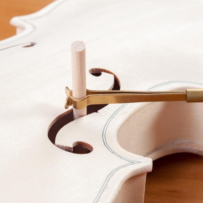 Violin Luthier Tools Sound Post Gauge Measurer Retriever Clip Set Violin Parts & Accessories enlarge