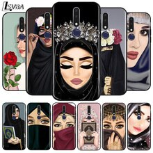 Muslim Islamic Scarf Gril Eyes for OPPO A31 A9 A5 2020 Reno 2 Z F ACE 3 4 Pro 5G Soft TPU Silicone P