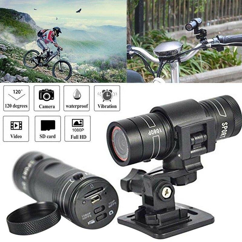 كاميرا دراجة هوائية جبلية دراجة نارية خوذة الرياضة عمل كاميرا فيديو كاميرا فيديو DV كامل 1080p سيارة مسجل فيديو