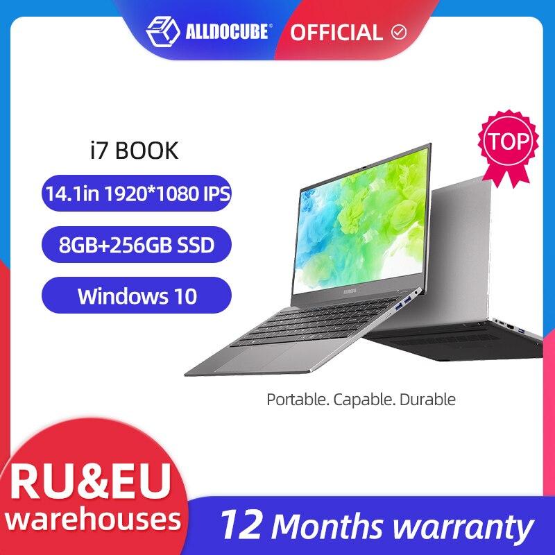 ALLDOCUBE Laptops i7 Book 14.1 inch 8GB Ram 256GB SSD Windows 10 Notebook Intel® Core™ i7-6660U Processor 1920×1080 IPS laptop