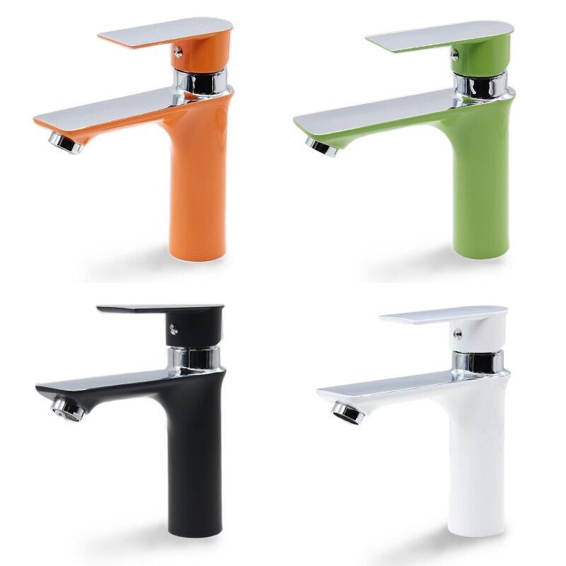 حنفية حوض الحمام OL8200 ، حنفية حوض الغسيل ، ثقب واحد ، حنفية حوض الحمام ، للمرحاض