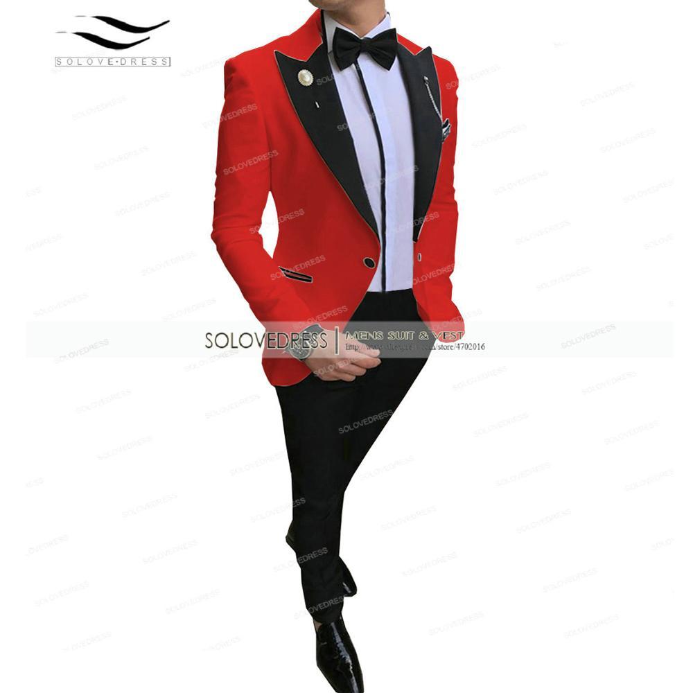 الوردي 2 قطعة الرجال الرسمي الدعاوى منتظم صالح الصوف حفلة موسيقية الشمبانيا البدلات الرسمية سترة الأعمال الزفاف رفقاء سترة + السراويل