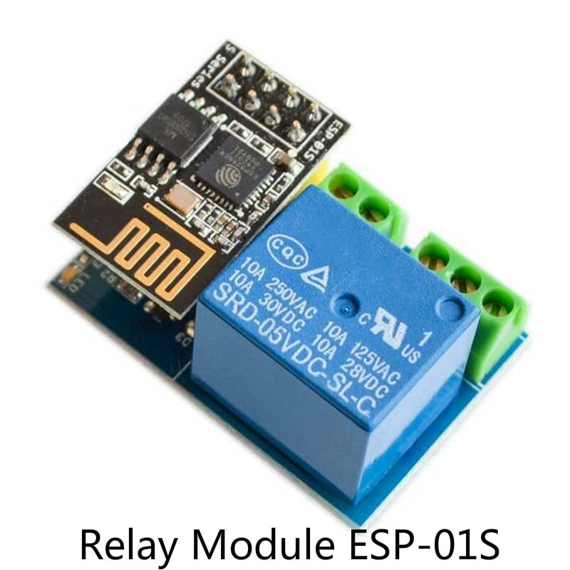 1PCS ESP8266 ESP-01S Relay Module Relay WIFI Smart Socket Control Switch Phone APP for Smart Home Family Intelligence System