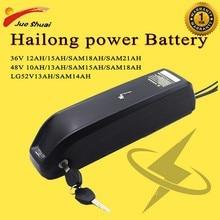 Ebike Batterie 36V 48V 52V 18A 21A BMS Hailong Batterie dalimentation 18650 cellule e-bike E vélo Batterie Batterie Velo Electrique Fiets Accu