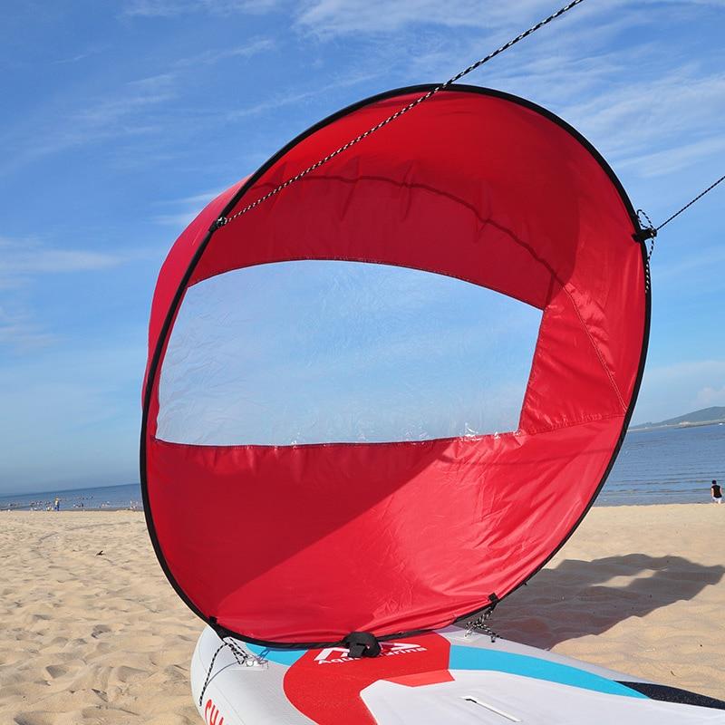 Kayak ultraligero vela de viento Kayak vela Sup Paddle Sails Canoe accesorios pesca barco surf Kayak inflable