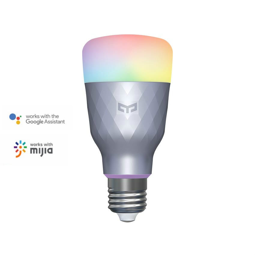 Yeelight-لمبة إضاءة LED متصلة 1SE ، E27 ، 6 واط ، RGB ، تحكم صوتي ، ملون ، متوافق مع Google Home و Mijia ، إصدار جديد