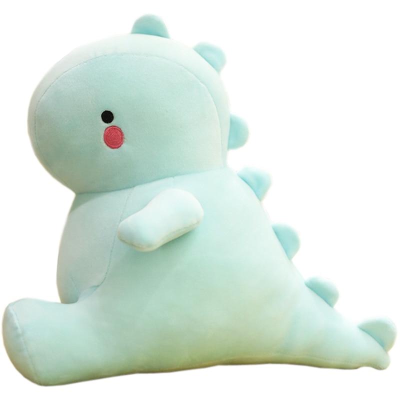 30/40/50cm Ultra Soft Lovely Dinosaur Plush Doll Huggable Blue Stuffed Dino Toy Kids Animals Plush Toy недорого