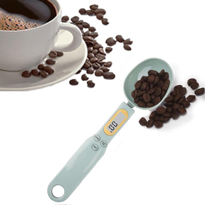 الرقمية LCD الملاعق الحساسة 500 جرام/0.1 جرام المطبخ القهوة السكر جرام مقياس ملعقة ملعقة الإلكترونية الوزن مقياس الخبز اكسسوارات