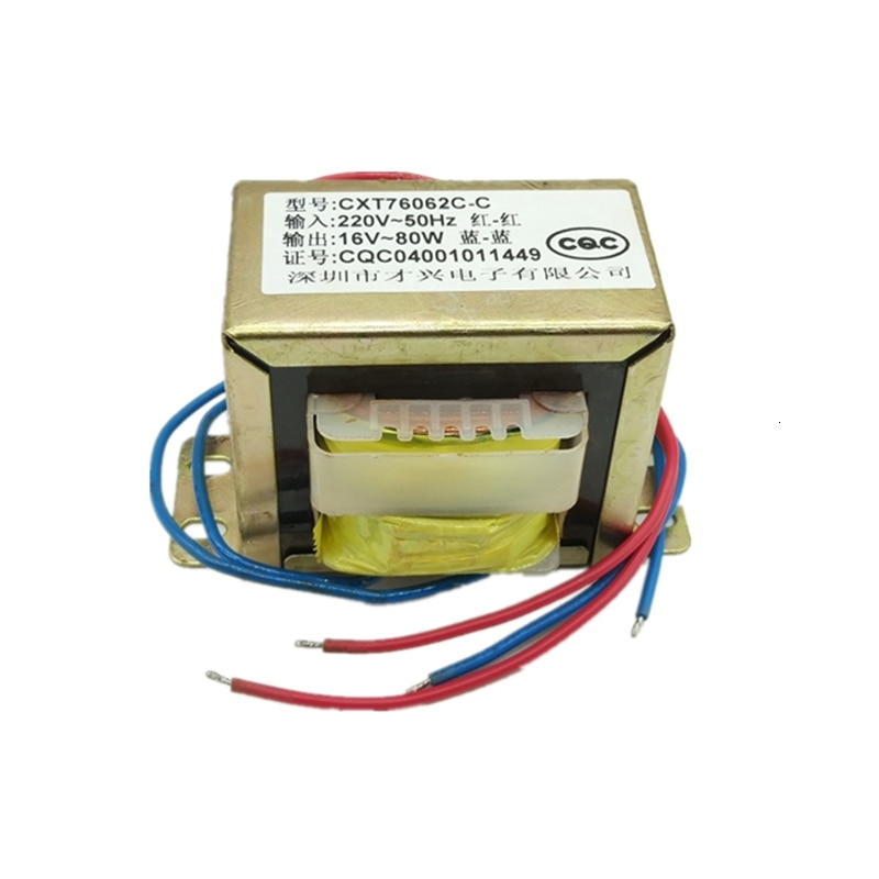 Transformador de potencia de 80W, transformador de aislamiento de cable de cobre...