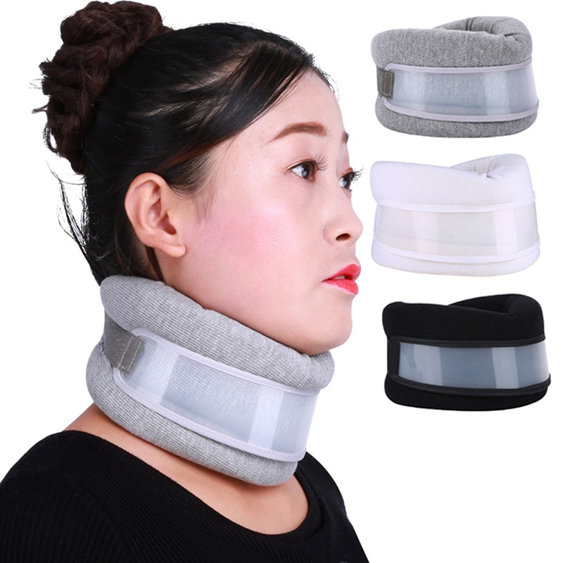 Cervical Traction Device Tension Reliever Relaxer Neck Shoulder Stretcher Pain Relief Relax Ease Fat