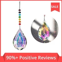 sun catcher feng shui crystals window large ab drop prism home garden decoration wedding favors chakra sun shui crystals gift