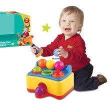Infantile frapper jouet musique éclairage marteau frapper balle mettre Intelligence exercice capacité pratique musculation cadeau