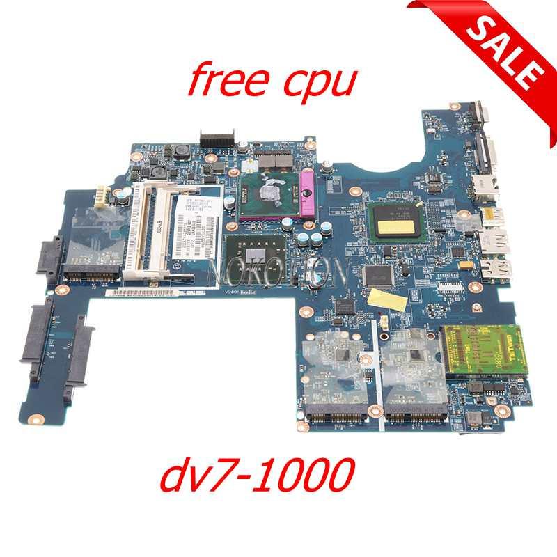 NOKOTION JAK00 LA-4081P500592-001 ل HP بافيليون DV7 DV7-1000 اللوحة الأم للكمبيوتر المحمول GM45 DDR2 وحدة المعالجة المركزية الحرة