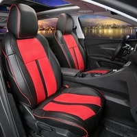 leather car seat covers 5 seat for peugeot 5008 high quality car protector pad cushion