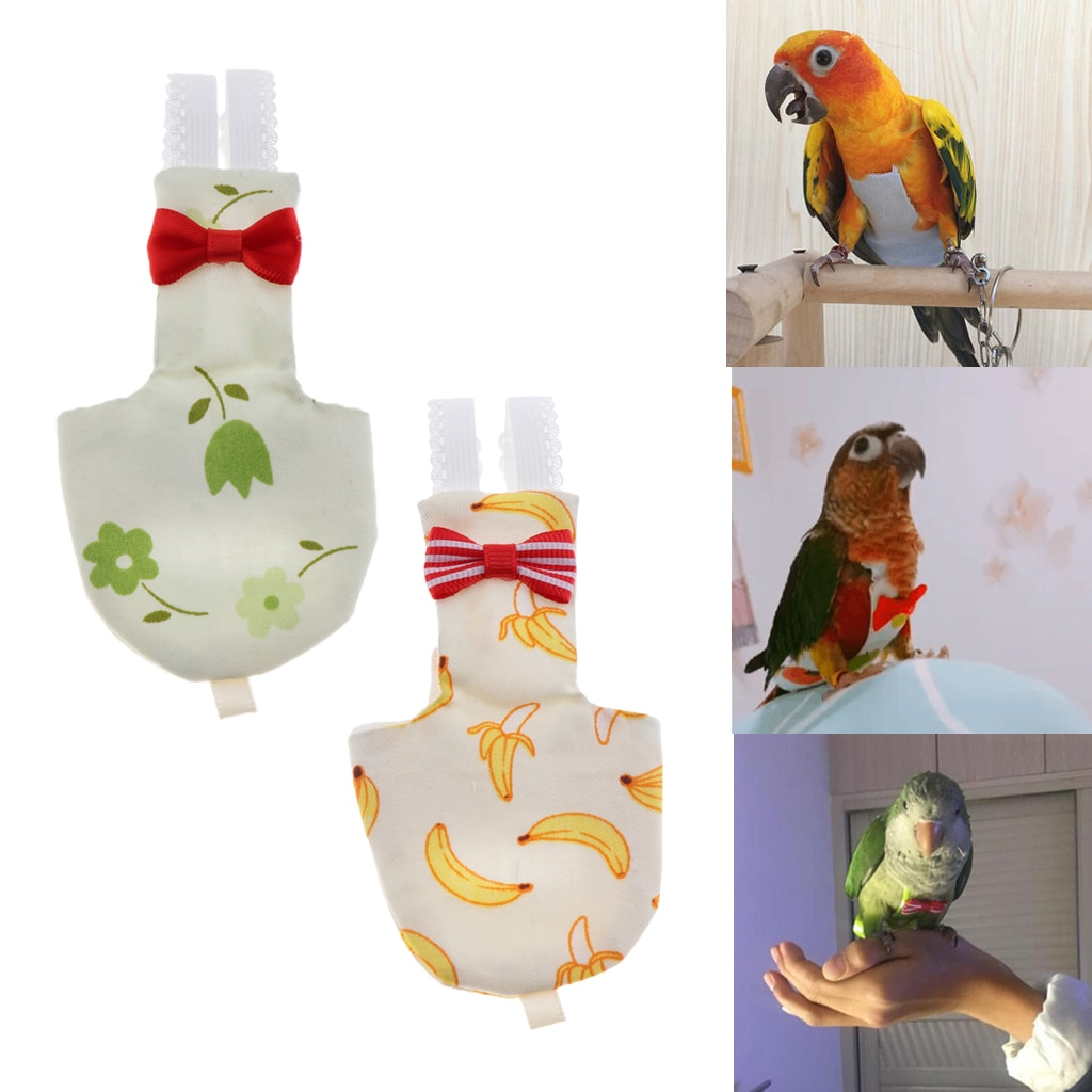 Parrot Birds Cover Breathable Bird Diaper Washable Bird Diaper for Parrot