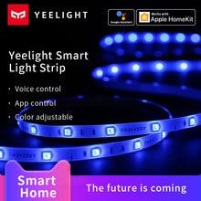 Yeelight Smart 2M 라이트 스트립 확장 버전 Alexa Google Assistant 음성 컨트롤은 Apple Homekit Xiaomi Mi Home app와 함께 작동합니다.