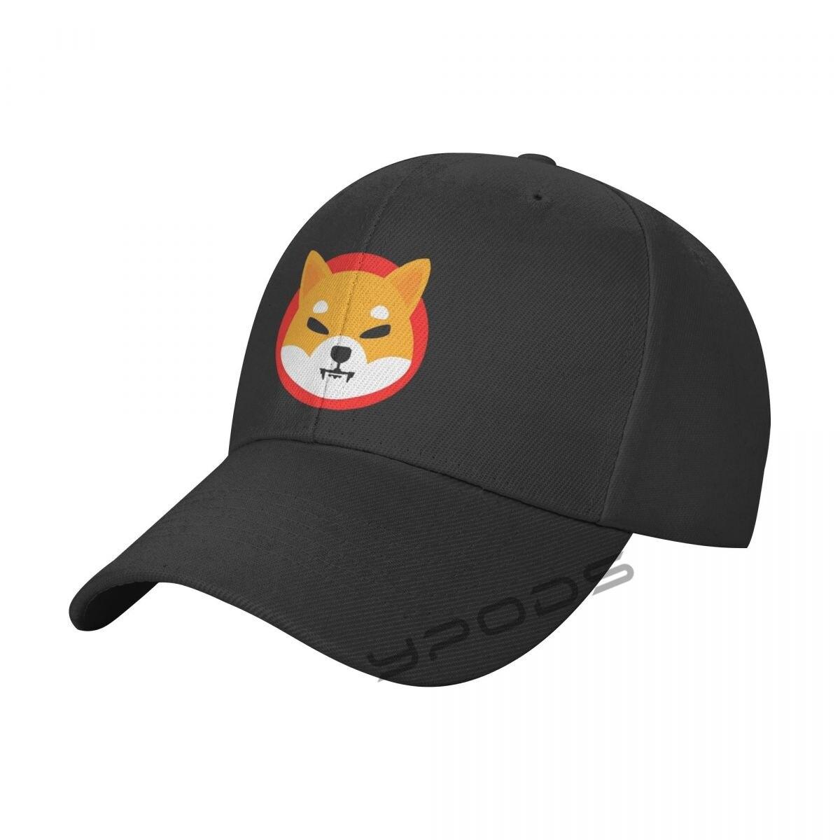 Бейсбольные кепки с принтом Шиба-ину регулируемые беговые кепки