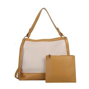 2021 Women's Large Capacity Shopper Handbag Designer Contrast Stitching Handbag Women's Composite Bag Large Shoulder Tote Bag