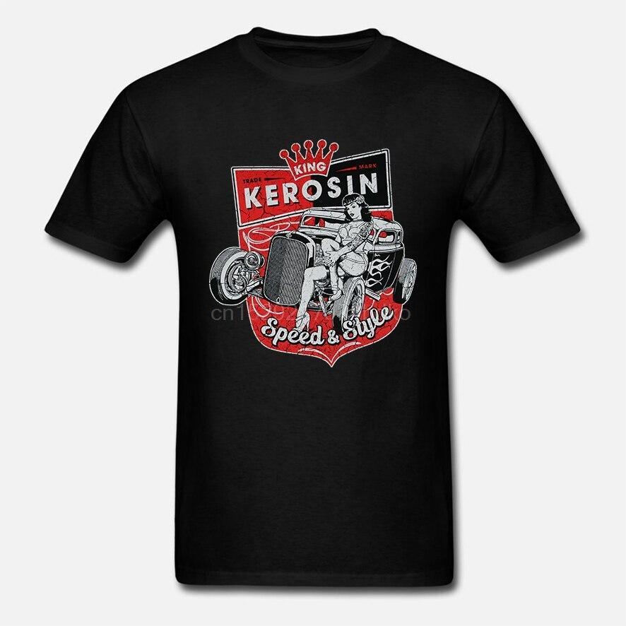 Camiseta para hombre King Kerosin Speed Style Neuwertig divertida camiseta novedad camiseta Mujer