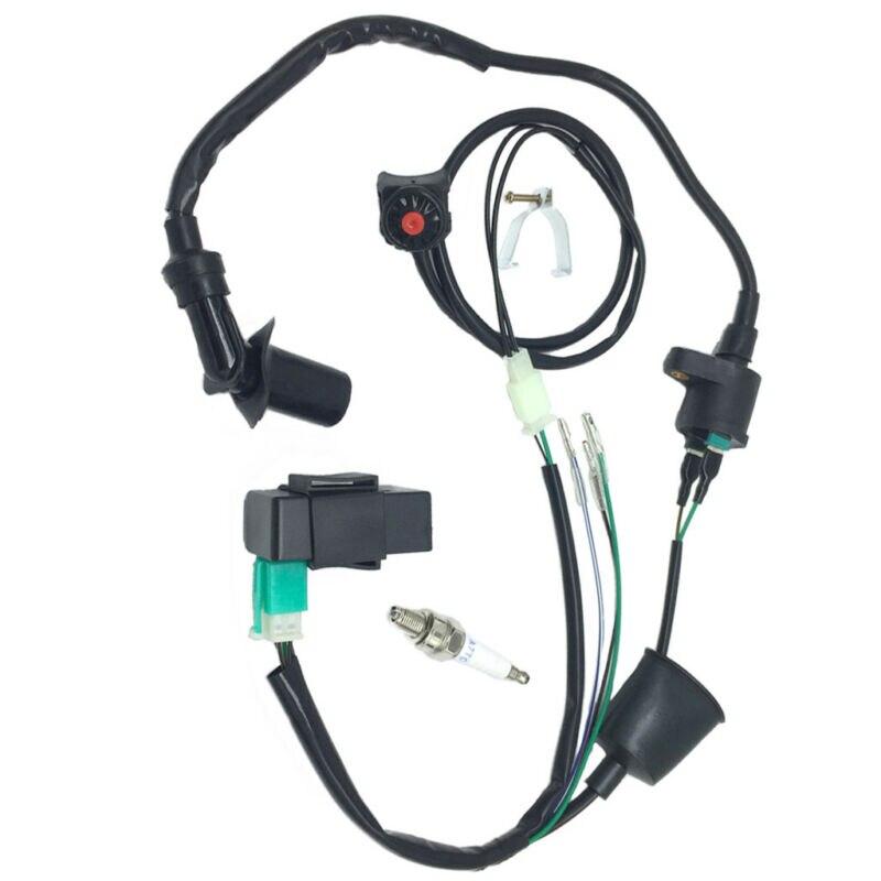 Kit de bobina de encendido CDI negro para arnés de moto de cross SSR Kick Pit útil