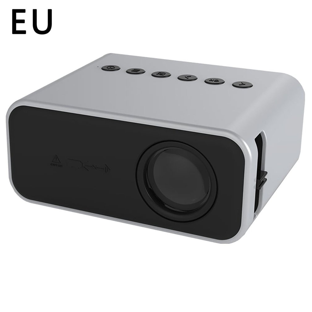 YT500 LED جهاز عرض صغير 320*240 بكسل يدعم 1080P HDMI متوافق USB الصوت المحمولة الرئيسية ميديا مشغل فيديو الاتحاد الأوروبي/الولايات المتحدة/المملكة المتحد...