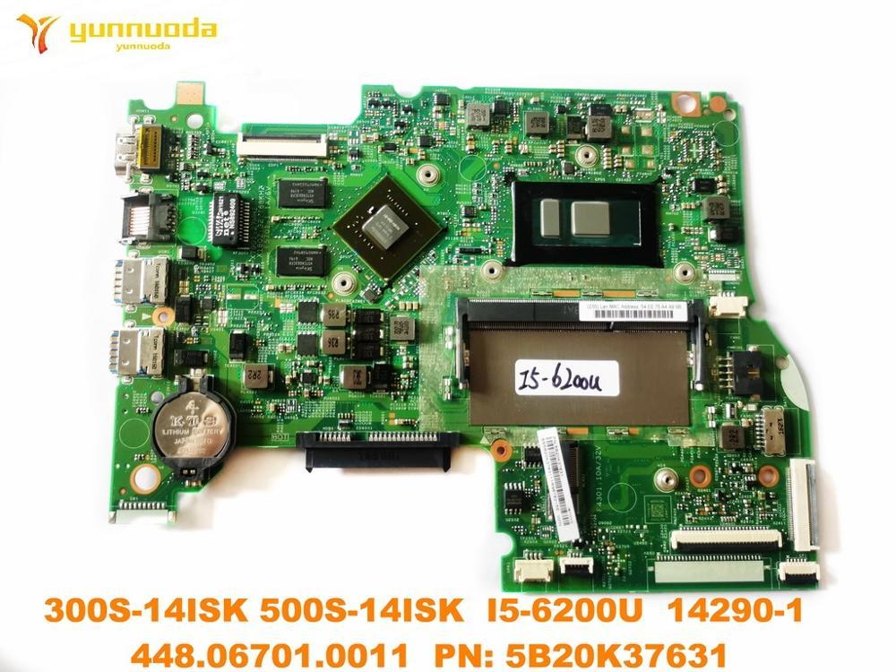 الأصلي لينوفو 300S-14ISK 500S-14ISK اللوحة المحمول I5-6200U 14290-1 448.06701.0011 PN 5B20K37631 اختبار جيدة شحن
