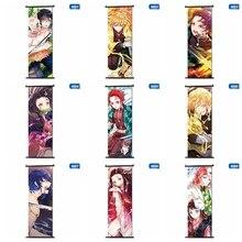 Demônio slayer: kimetsu não yaiba tanjirou nezuko anime mangá parede cartaz rolo 30*90cm
