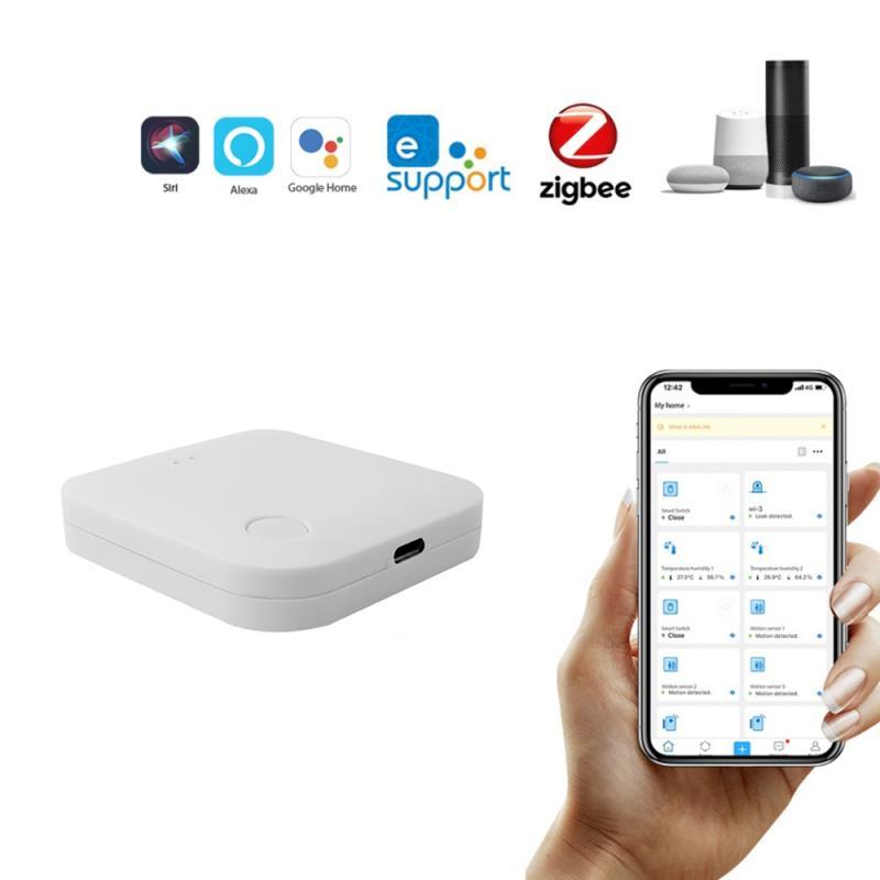 Tuya ZigBee-بوابة Smart Home Hub ، وحدة تحكم لاسلكية عن بعد ، تطبيق Smart Life ، ملحقات Alexa و Google Home ، عصري