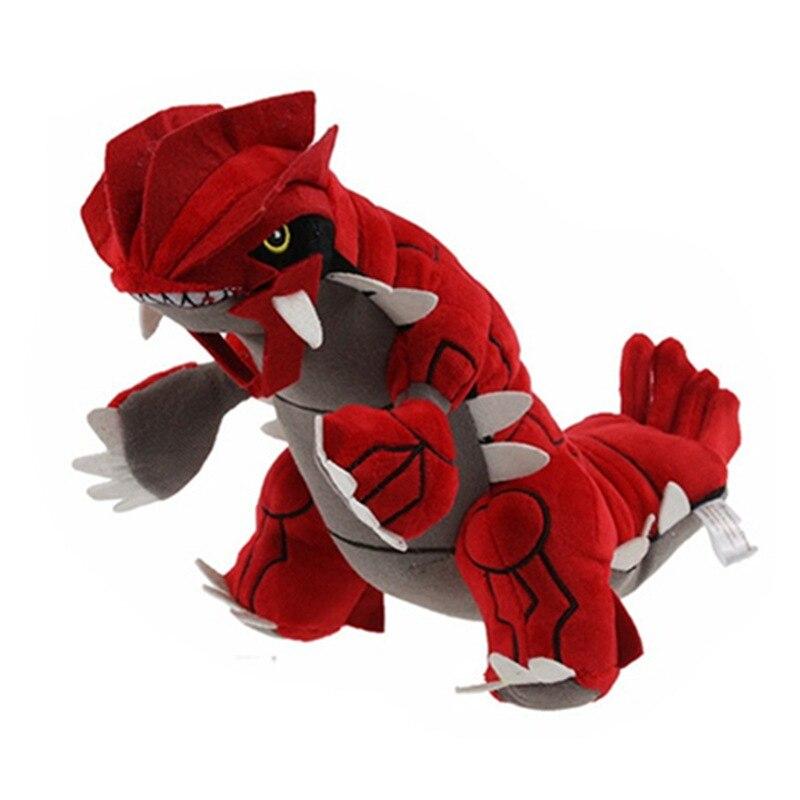 Pokemon peluche Animal relleno juguete Groudon Pocket Monster Omega Ruby peluche muñeca para niños regalo 30cm