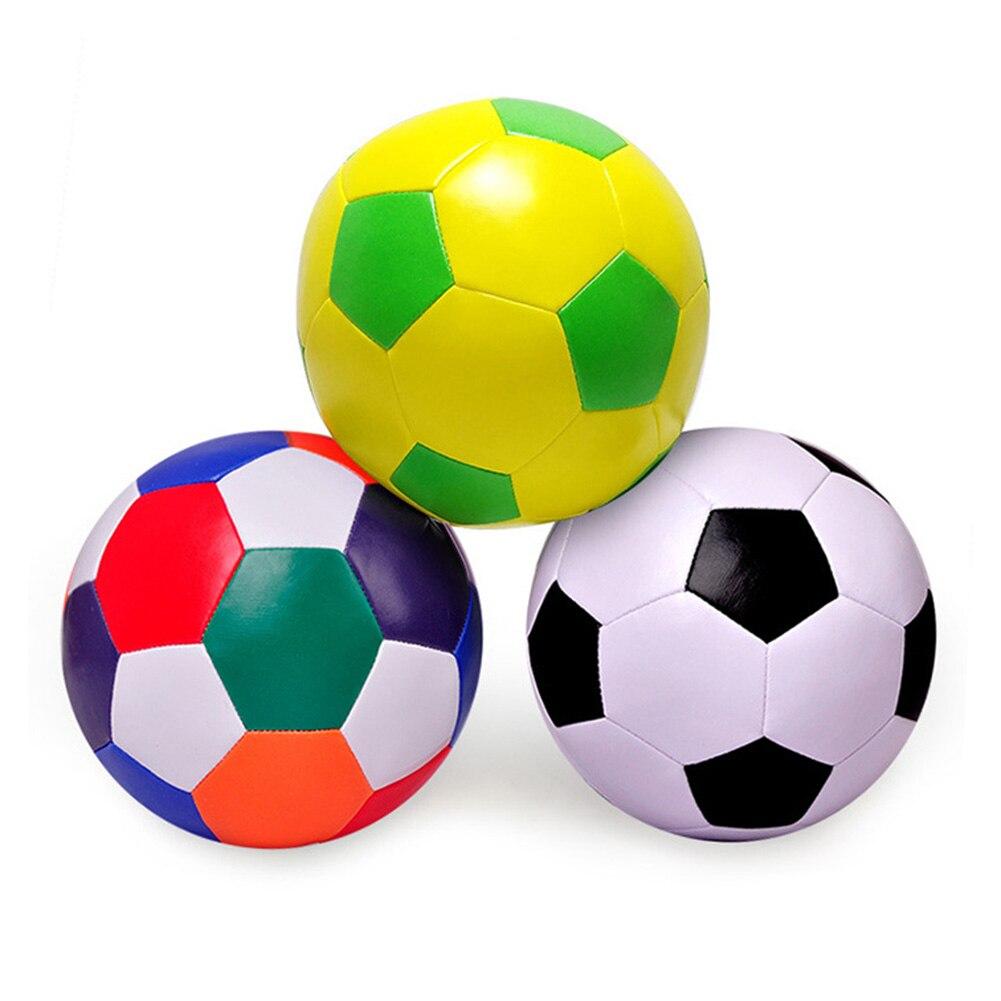 Детский высокоэластичный полиуретановый большой хлопковый мяч для футбола мягкий спортивный мяч для дома и улицы детская игрушка для трен...
