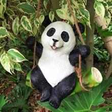 Koala Panda Rabbit Garden Yard Decoration Simulatio Statue Animals Sculpture Resin Crafts Home Decoration Ornament Cute