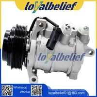 auto air ac compressor 10sre18c for car chrysler dodge ram 1500 2500 3500 447280 0452 55111442ad 55111442ag 129380 157377 158377