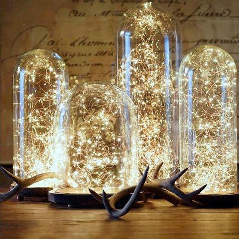 Feliz natal decorações para decoração de casa led fio de cobre luzes da corda ano novo 2021 navidad decoraciones para el hogar
