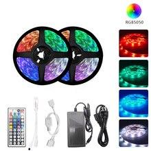 Smd 5050 2835 DC12V Led Light Strip Rgb 5M 10M Wifi Flexibele Rgb Led Streep Lint Diode Backlight voor Thuis Kamer Keuken Party
