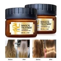 purc magical keratin hair treatment mask 5 seconds repairs damage deep hair root treatment for silky hair conditioners 2pcs