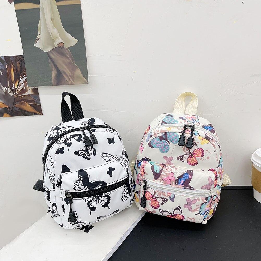 Женские рюкзаки с животным принтом 2021, трендовая нейлоновая женская сумка, маленькие школьные сумки, белая женская сумка, рюкзак для девоче...