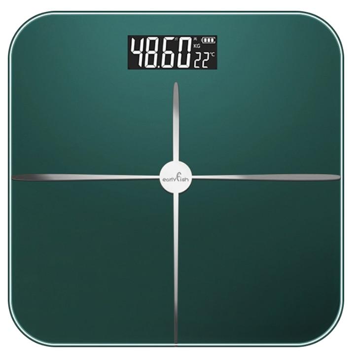 Black Bathroom Scales Digital Weight Machine Precision Led Body Fat Scale Health Cute Bilancia Pesapersone Home Products DI50TZC enlarge
