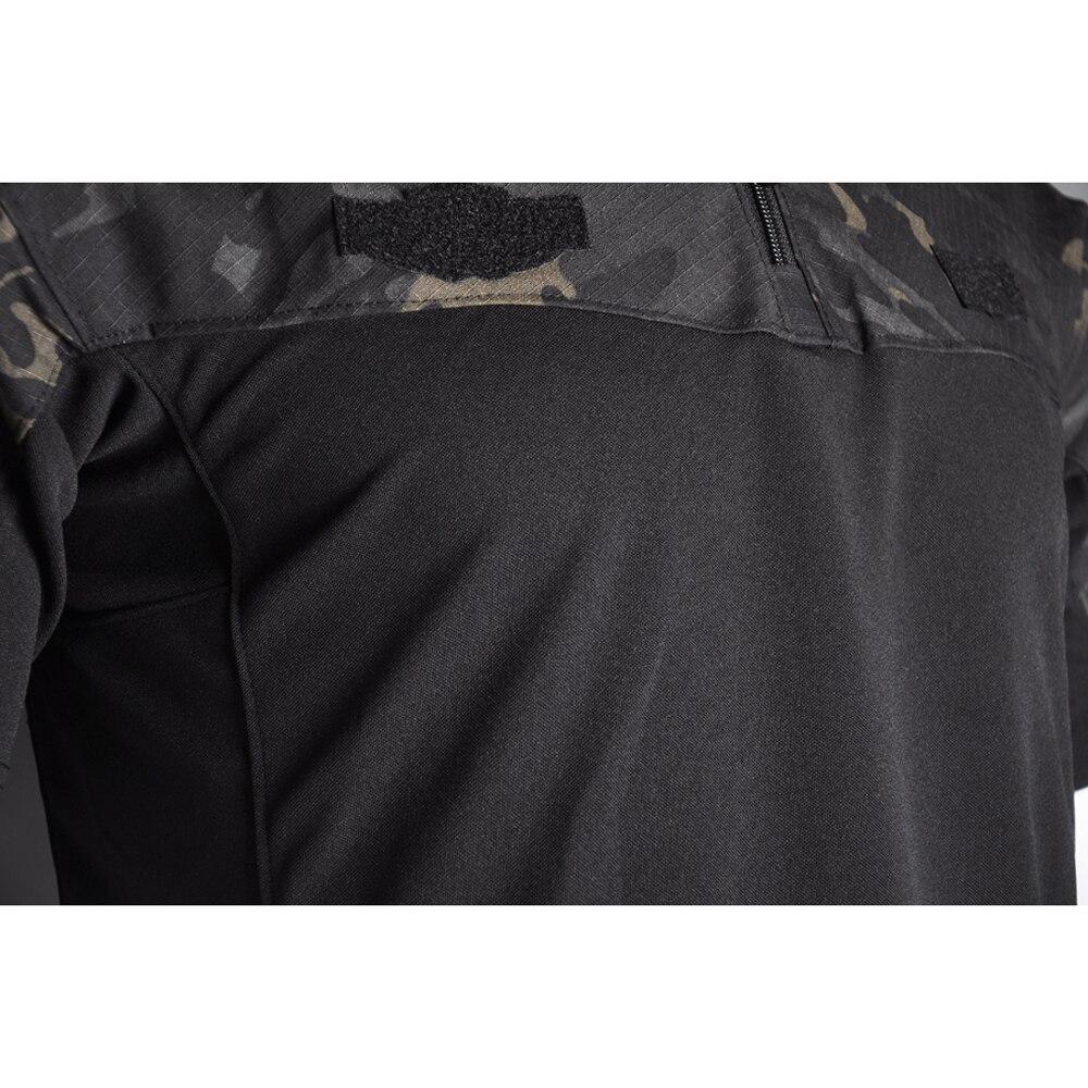 Купить с кэшбэком Tactical Military Uniform Camo Army Combat T Shirt Shirts Rapid Assault Short Sleeve Polo Battle Strike Airsoft Paintball NEW
