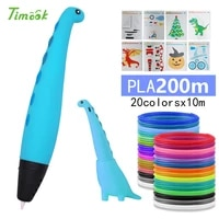 cute dinosa 3d pen 3d pens with pla filament 3d model creative doodler pen children gift 3d drawing pen 3d print pen
