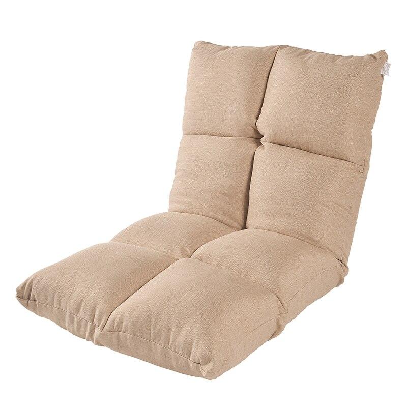 Sofá perezoso Tatami plegable individual pequeño sofá cama respaldo balcón ventana sofá...