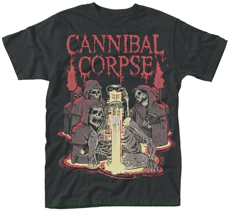 Cannibal Corpse acid T Shirt - New  Official Top Tee 100% Cotton Humor Loose Crewneck Tee Shirts