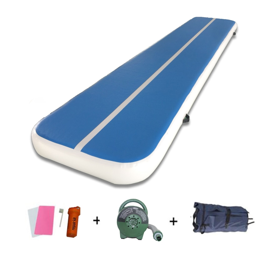 6m*1m*20cm Inflatable Air Track Gymnastics Yoga Tumbling Mat for Home Use Fitness Equipment Gym Floor Mats Training Mattresses