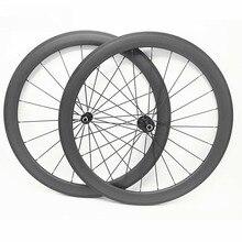 Roues de vélo de route 700c 50x23mm pneu ou tubulaire rodas carbono 700c A291SB F482SB 100x9 130x9 route carbone roues pilier 1432