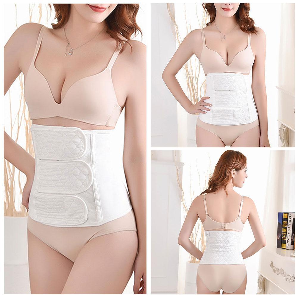 Banda de vendaje Abdominal para mujeres, embarazo posparto, cinturón para la barriga y el Abdomen, Sección de algodón U2R2