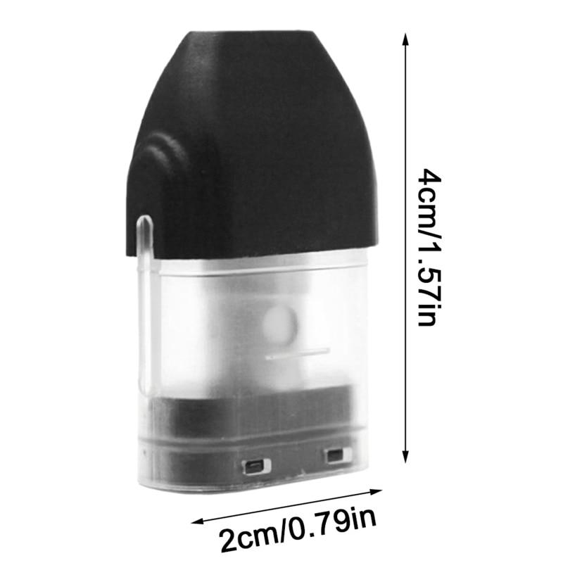 4 Pcs/Pack Refillable Pod Cartridge 1.4ohm 2ml Top Fill Design Vape Pod System for UWELL Caliburn KOKO Pod System Kit enlarge