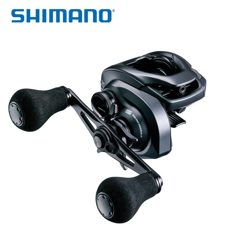 Nouveau SHIMANO sortie cc SS HGL HGR XGL XGR 7.41 8.51 rapport de vitesse IDC4 sortie air eau salée profil bas Baitcast moulinet de pêche