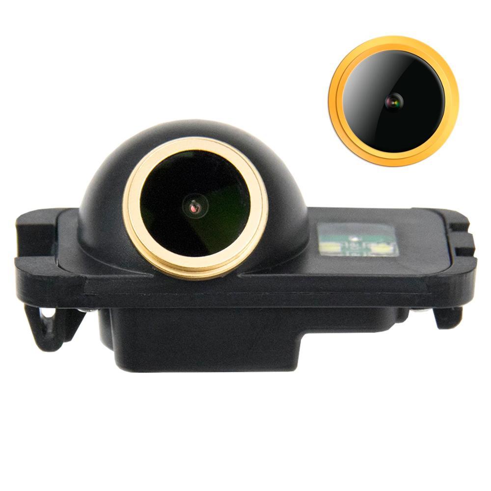 HD 1280x720p de oro de visión trasera cámara de copia de seguridad para FORD Ranger FORD MONDEO MK4 FIESTA Seda ST se HATCHBACK MK2 3 S-Max KUGA Explorer