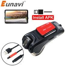 USB voiture DVR pour Android lecteur Radio de voiture HD 720P 140 degrés grand Angle voiture avant caméra enregistreur vidéo tableau de bord caméra avec ADAS